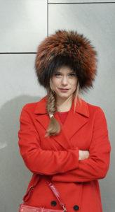 Alexander, kostbare Pelzmütze. Hüte Christine Halbig - München