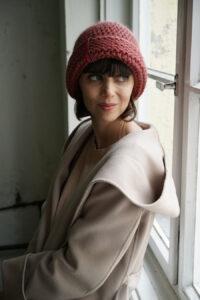 Handgearbeitete Mütze aus Alpaka-Wolle