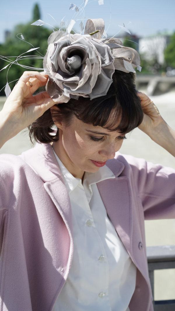 Flora. Haarreif mit Seidenblüte. Auch in Ihrer Wunschfarbe.