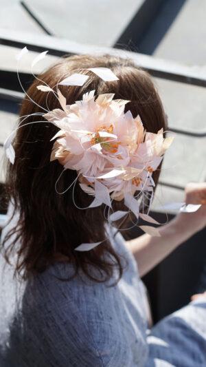 Flora-Federblüte